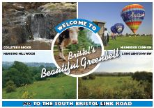 Stop the South Bristol Link Road - postcard