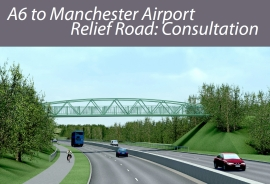 Cover of Manchester Airport Link consultation document