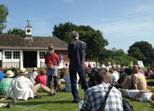 Combe Haven rally speech
