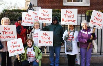 Demo against Heathrow third runway
