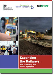 Expanding the Railways front cover