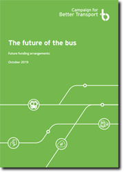 The future of the bus: future funding arrangements, cover image and download link