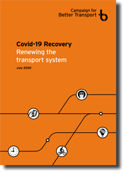 Covid-19 Recovery: Renewing the transport system, cover image and download link