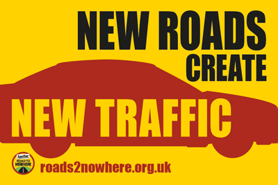 New roads create new traffic