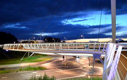 Hovenring bike bridge by EnvironmentBlog on flickr
