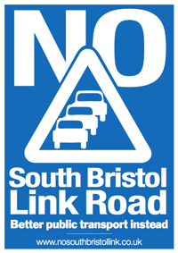 South Bristol Link Road campaign poster
