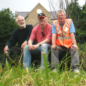 Photo: some of the Friends of Dronfield Station