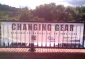 Photo: Changing Gear banner