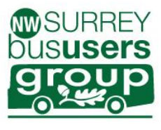 North West Surrey Bus Users Group logo