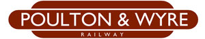 Poulton and Wyre Railway Society logo