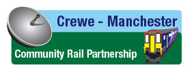Crewe To Manchester Community Rail Partnership logo