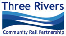 Three Rivers Community Rail Partnership logo