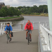 Photo: cycling in Lancaster