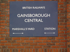 Photo: station sign