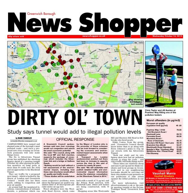 Cover of the News Shopper