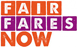 Fair Fares Now logo