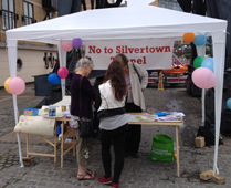 No to Silvertown Tunnel stall