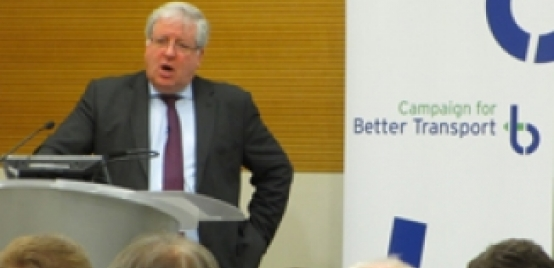 Photo of Patrick McLoughlin at an event run by us