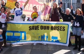 Save Our Buses demo