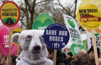 Photo: Climate march