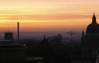 Photo: Nottingham skyline