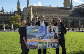 Penny Woods, Norman Baker and John Lilley