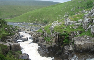 Cauldron Snout in the North Pennines AONB