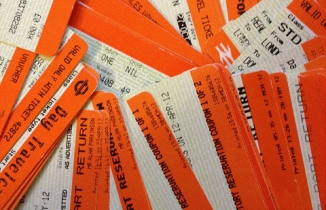 picture of train tickets