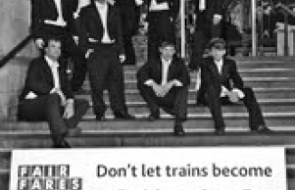 Photo: train toffs