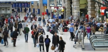 Photo: Passengers at Paddington Station