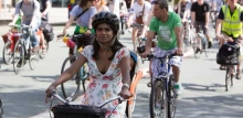 Photos: cyclists
