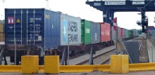 Photo: Port of Felixstowe rail freight