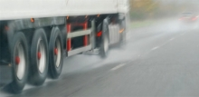 Photo: lorry wheels