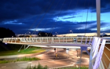 A cycle bridge in the Netherlands, credit Environment Blog on flickr