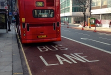 bus lane photo taken by Andrew Nash