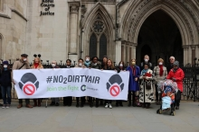Healthy Air Campaigners at the High Court