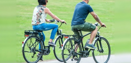 E-bikes photo courtesy of Electric Bikes Sussex.
