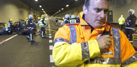 Incident exercise, photo by Highways England on flickr