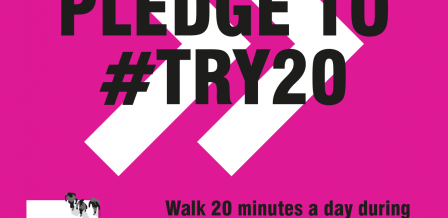 National Walking Month #Try20